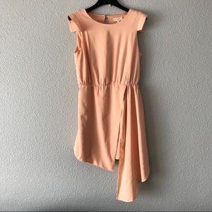 Tea & Cup Blush Pink High Low Dress